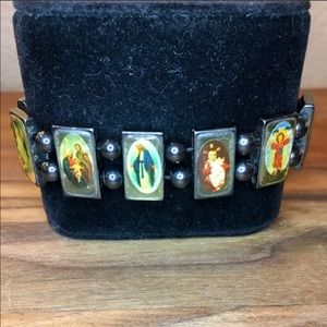 Virgin Mary Saint Magnetic 🧲 Bracelet
